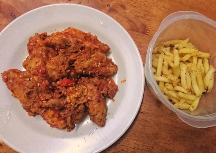 Ayam Geprek Sambal