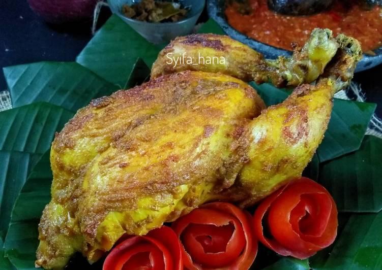 Ayam Panggang Oven Bumbu Ungkep