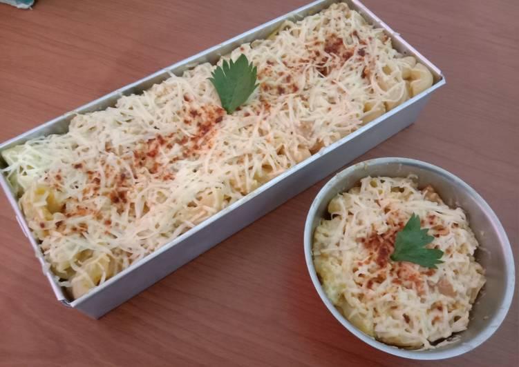 Cara Memasak Macroni & spagetti schotel kukus untuk jualan