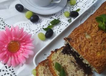 How to Make Delicious Marble tea Cake
