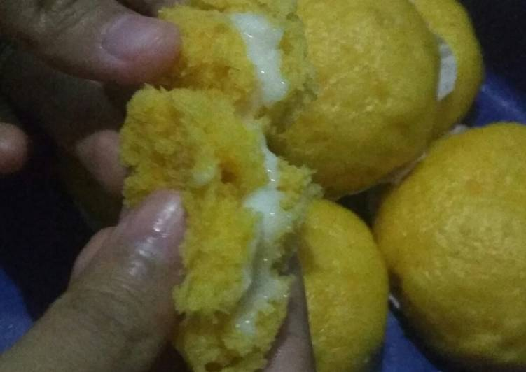 Resep Mini Pao Ubi Kuning Mudah