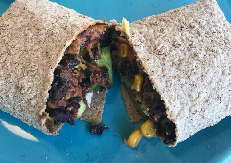 Recipe of Favorite Vegan Burrito