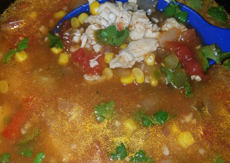 Recipe of Ultimate Chicken Tortilla Soup