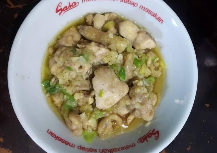 Ayam Bawang Putih (Garlic Chicken)