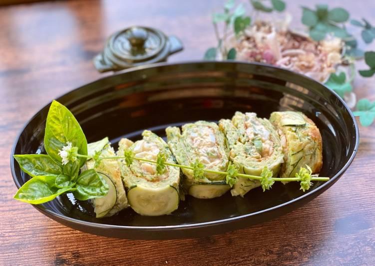 Recipe of Homemade Zucchini Roll