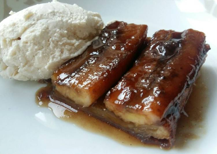 Step-by-Step Guide to Make Super Quick Homemade Vickys Bananas Foster Tarte Tatin, GF DF EF SF NF
