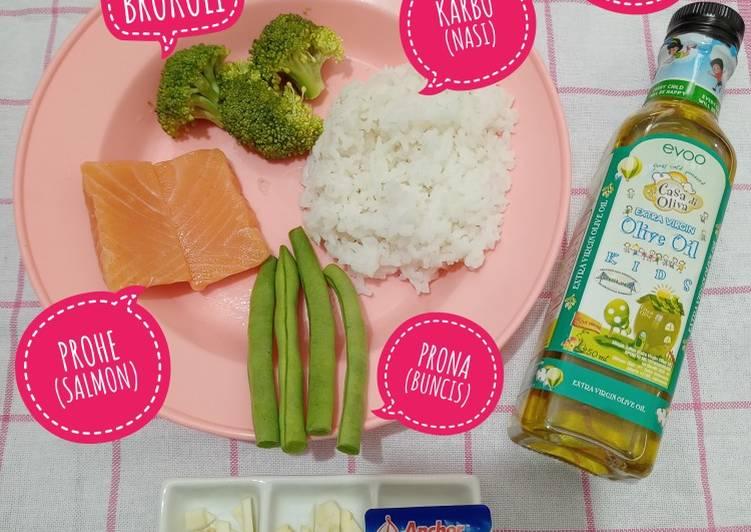 5 Cara Membuat Mpasi 6 Bulan Salmon Brokoli Menu Lengkap 4 Bintang Yang Mudah Cookandrecipe Com