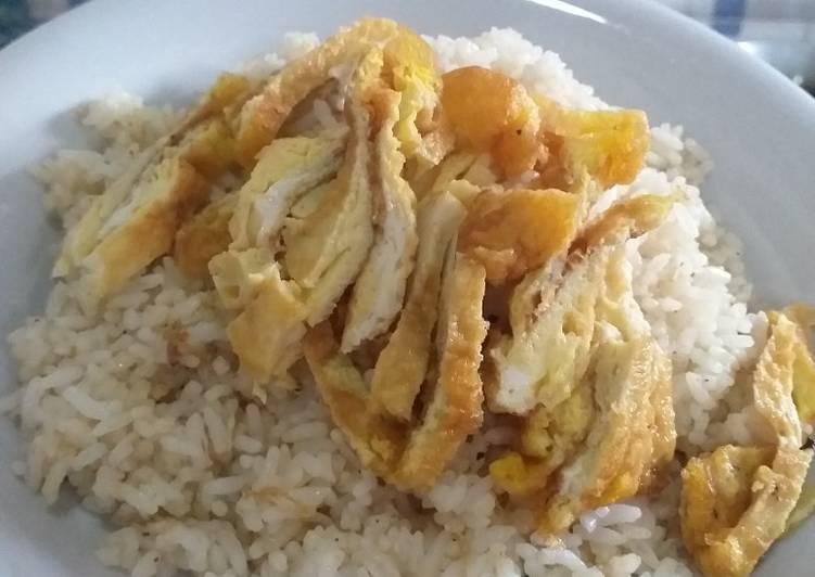 Resep Nasi goreng request anak (tanpa cabe) Terenak