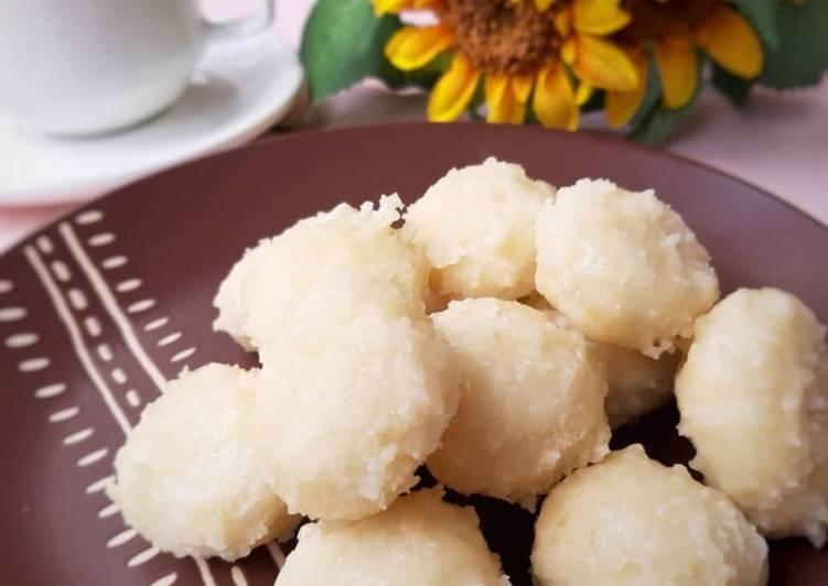 Getas Ketan Putih Gula Putih