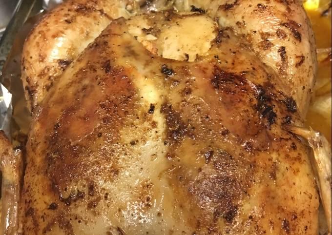 Recipe of Award-winning Lemon Roast Chicken
