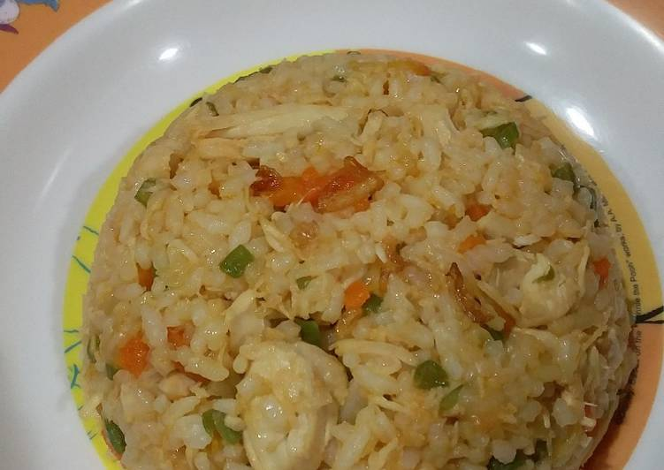 Resep Nasi goreng ayam, untuk anak anak Paling Mudah