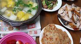 Hình ảnh món Mâm cơm hằng ngày ở Đài Loan