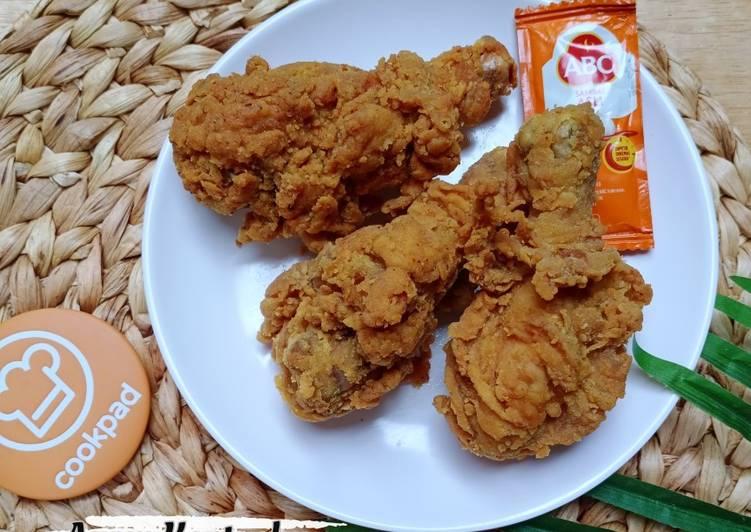 Resep Memasak Ayam Kentucky Paling Mudah