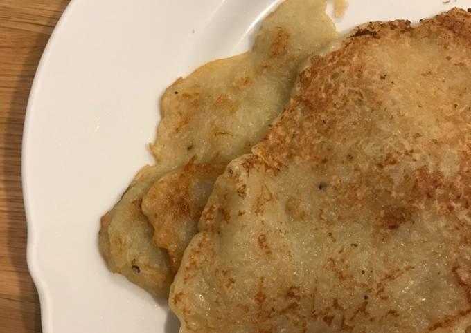 Hungarian potato pancakes better known as macok or tócsni 😋