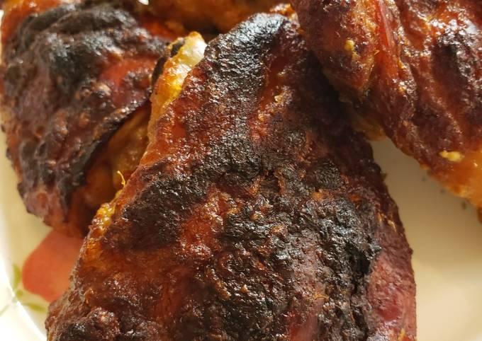 Spicy Baked Jerk Chicken