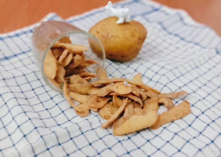 Kripik kulit kentang