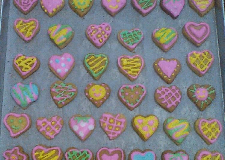 Resep Kue Kering Glasur Cantik Icing Oleh Eqha Putri Cookpad