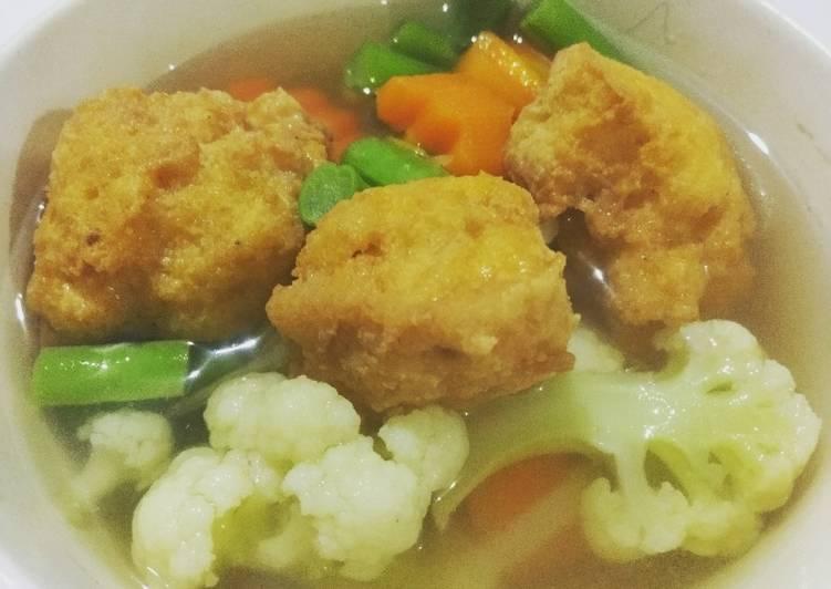 Sup Tahu Pong
