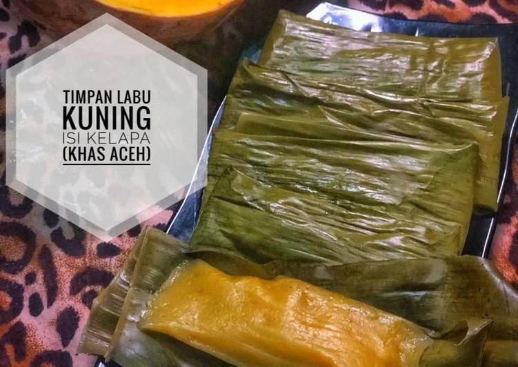 57. Timpan Labu Kuning Isi Kelapa (Khas Aceh)