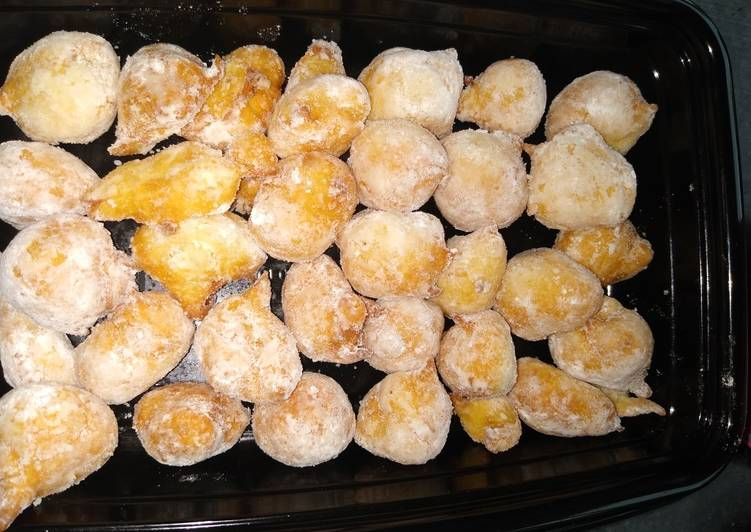 Easiest Way to Make Perfect 3 ingredients mini donuts
