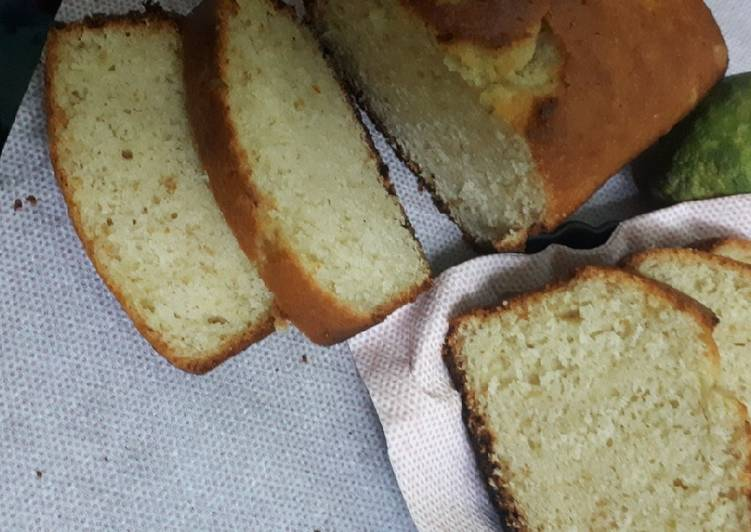 Lemon - Coconut Loaf Cake #Wheat Flour contest #