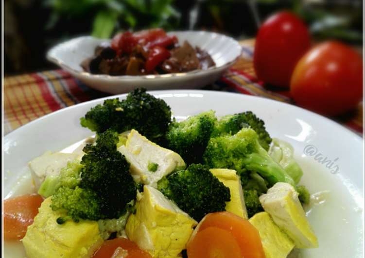 Cah Brokoli Saus Tiram