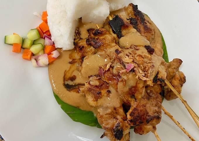 Resep Sate Ayam (Versi Sate Khas Senayan) Anti Gagal