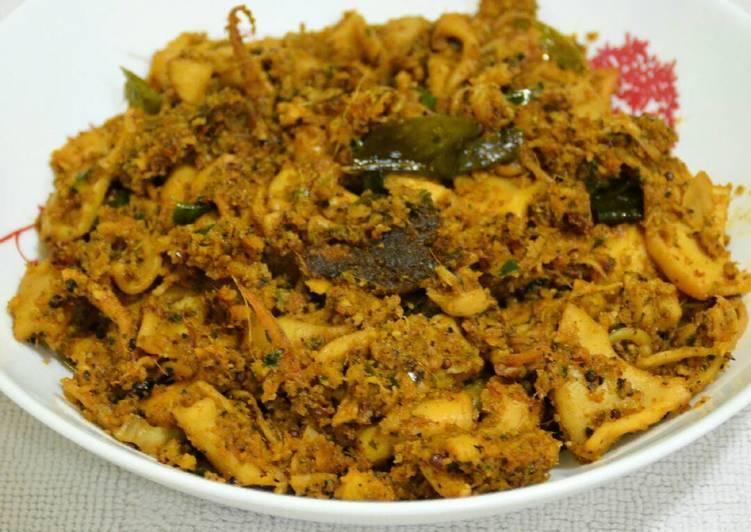Recipe: Delicious Squid (Calamari) Coconut Masala