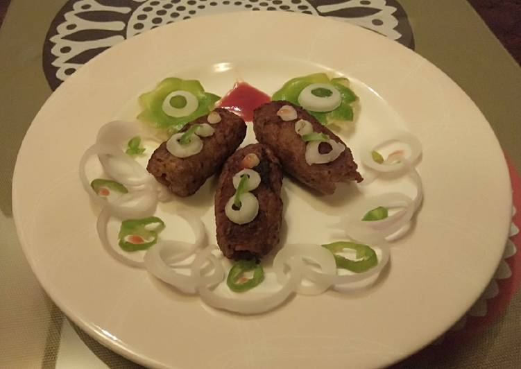 Grandmother's Dinner Easy Vegan Kafta kabab