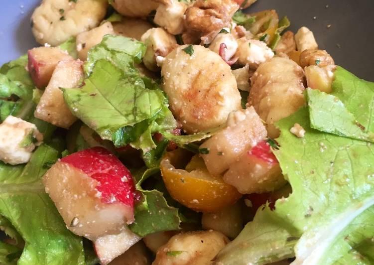 Salade estivale de gnocchis