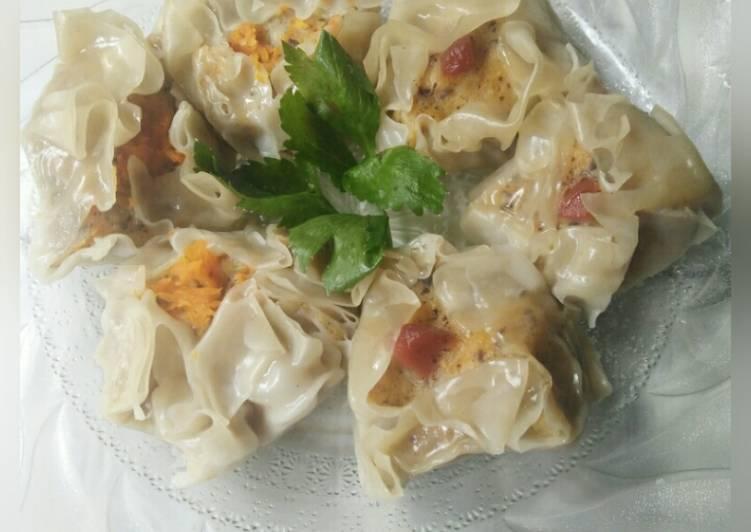Resep Siomay Ayam jamur Paling Mudah
