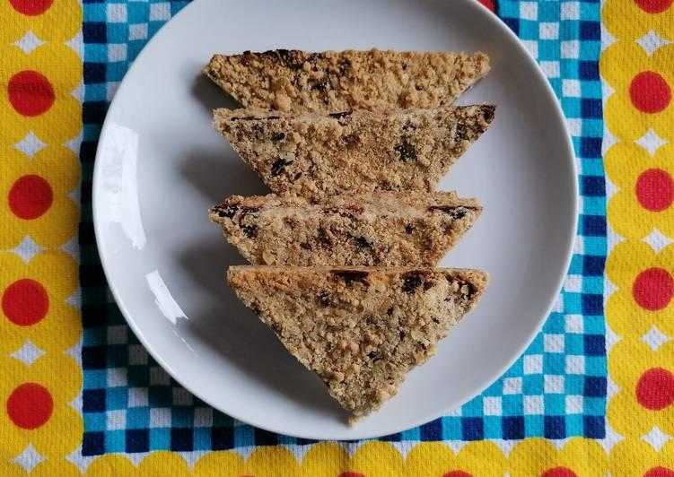 Recipe of Quick Cranberry and orange oat crumbles