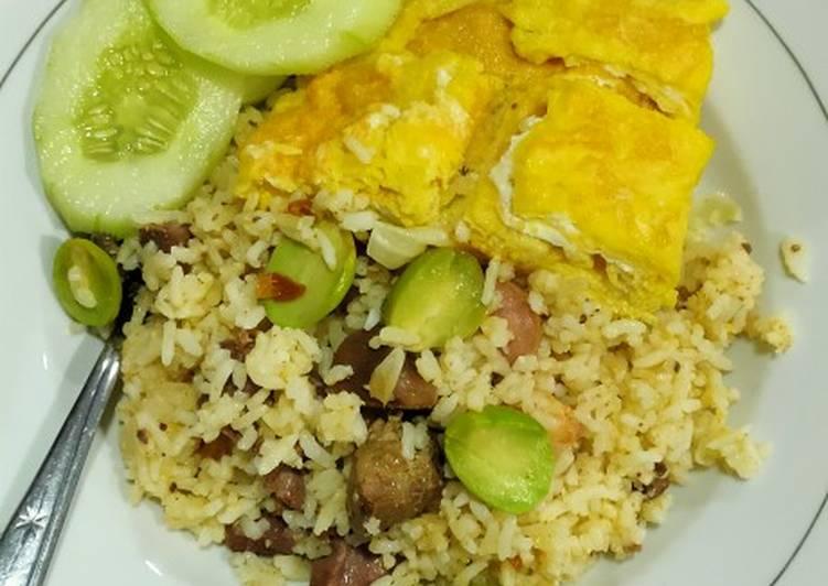 Nasi Goreng Pete Seafood