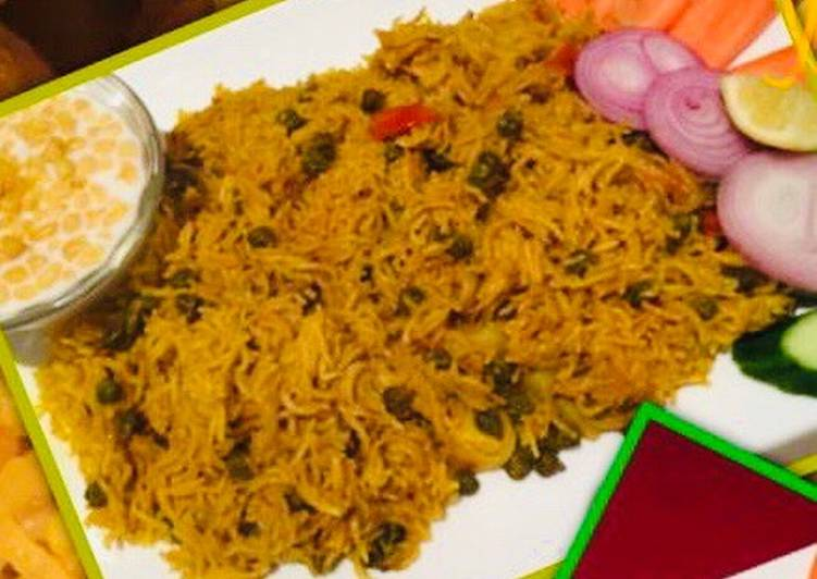 Step-by-Step Guide to Prepare Any-night-of-the-week Hare Chane ka Pulav