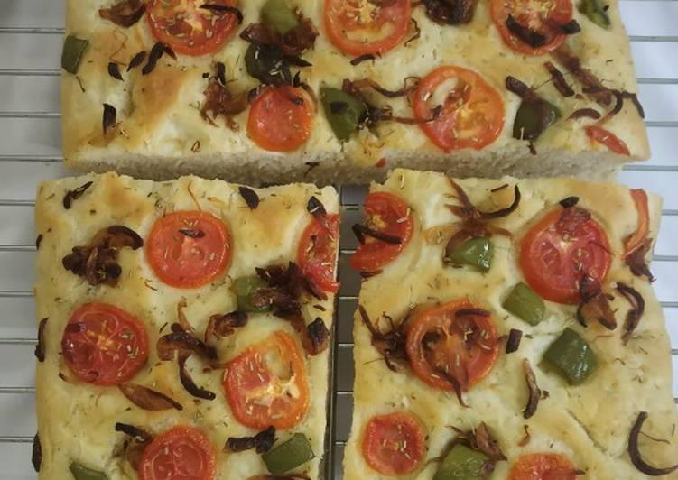 Simple Way to Prepare Perfect Focaccia