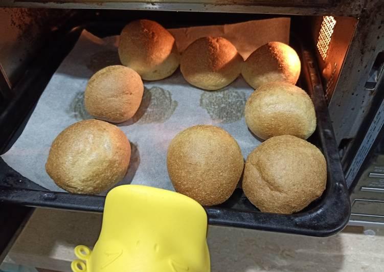 Roti Keto Fluffy / Roti rendah karbo