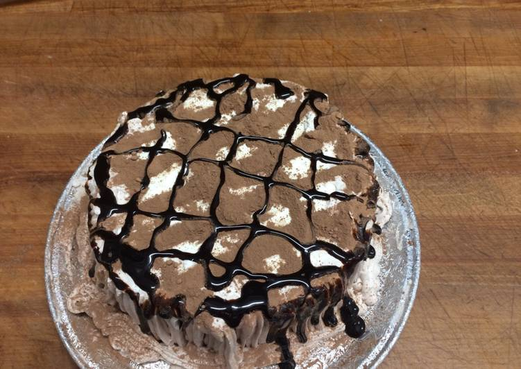 Tiramisú cake (desde el pan)
