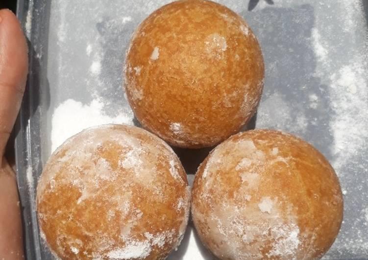 Chapssal doughnut a.k.a onde-onde korea