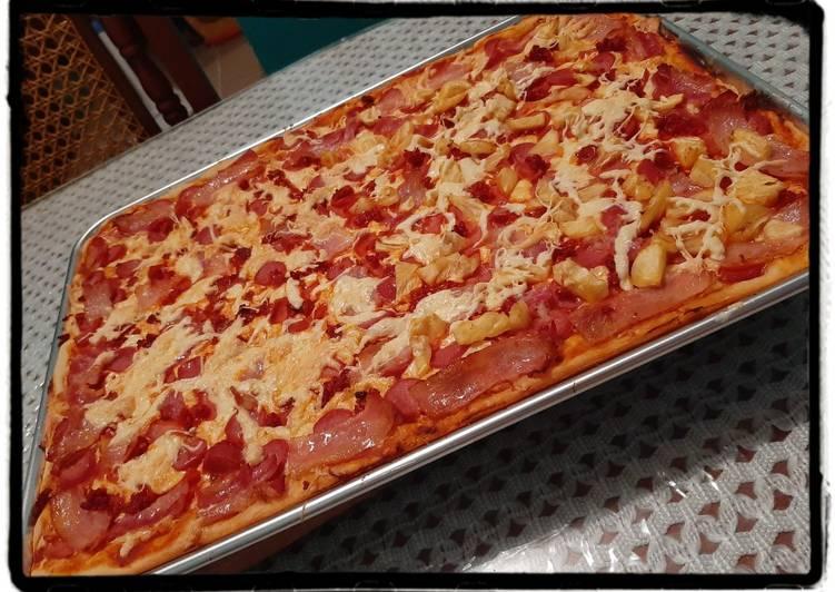 Pizza de Cuarentena 🍕👨👩👧👦
