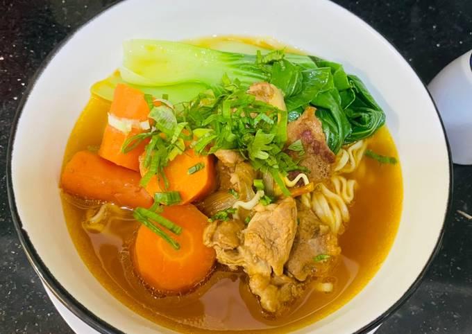 Resep Mie daging sapi semur kecap (Chinese food ala Taiwan) - projectfootsteps.org