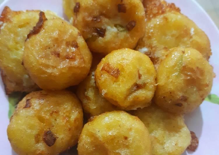 Perkedel kentang sederhana
