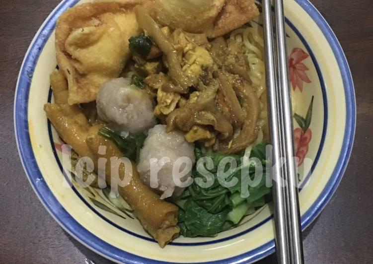 *6* Mie Ayam Jamur Tiram