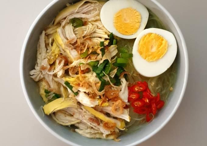 Turmeric Chicken Soup (Soto Ayam)
