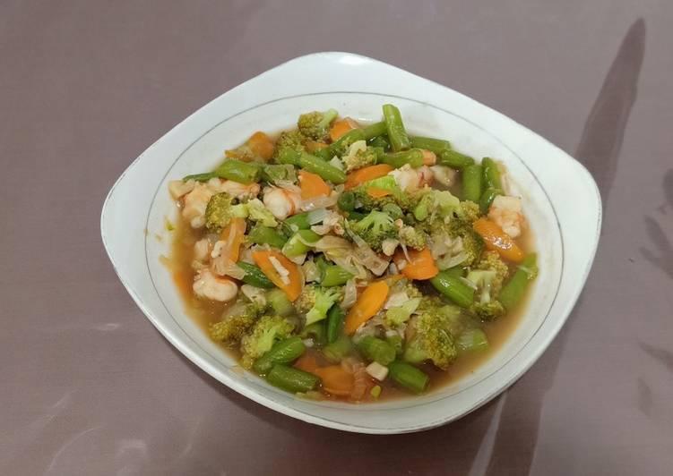 Resep Capcay Sayur Kuah Anti Gagal