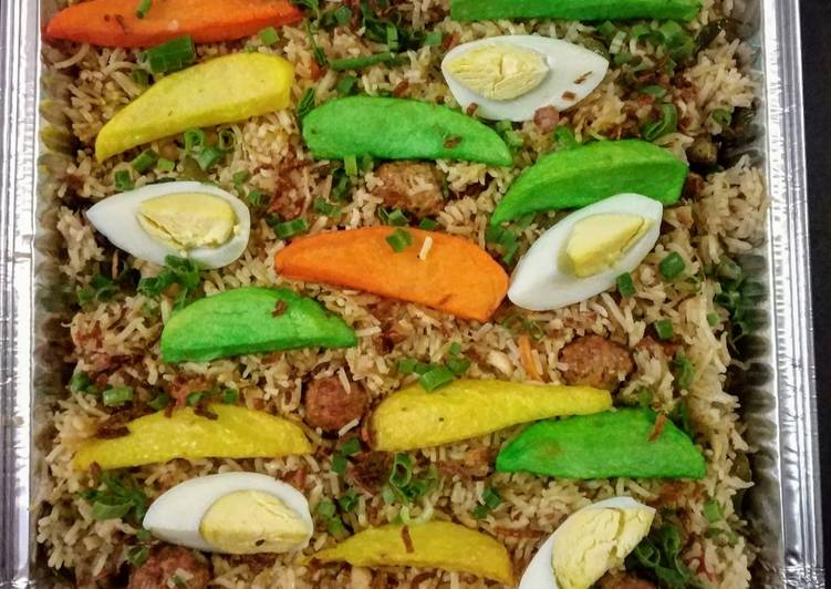 Foods That Make You Happy ZamZam Pulao or Cocktail Pulao