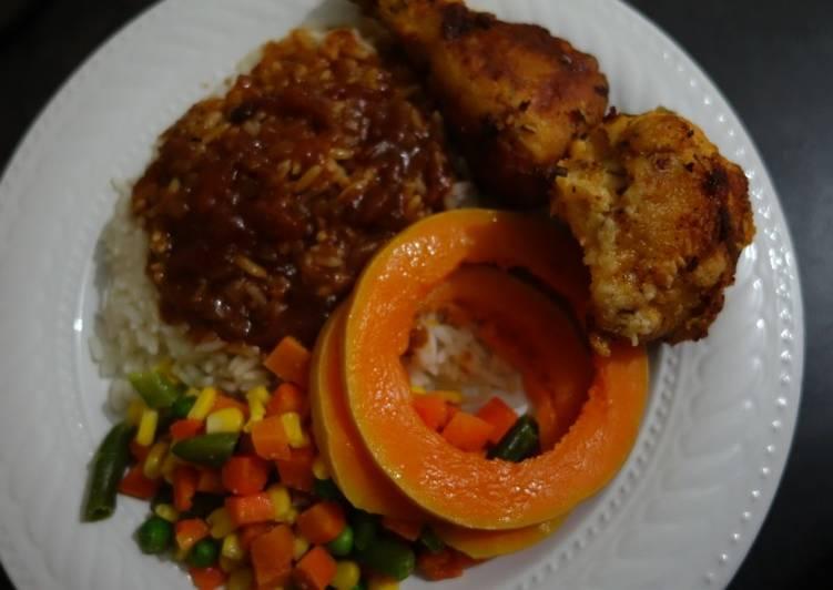Baked chicken