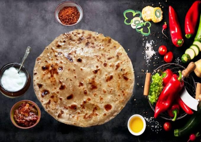 Recipe of Favorite Aloo Paratha