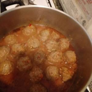 Albóndigas en salsa! Fácil fácil!!!!