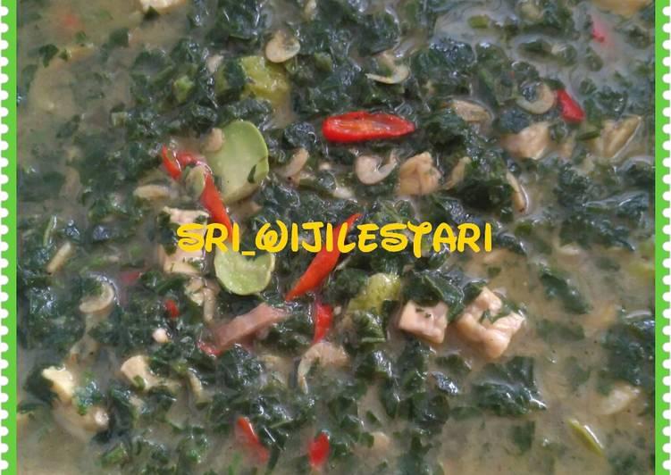 Lodeh mbayung (daun kacang panjang)