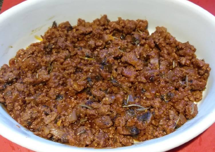 A Hearty Beef Casserole 🇮🇹🍅🍄🍷🍜